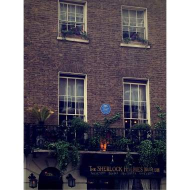 The outside of 221b