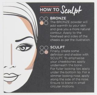 Revlon Sculpt and Highlight Contour Kit How to Sculpt