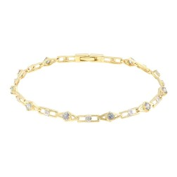 10K Fancy Tanzanite Gold Bracelet $259